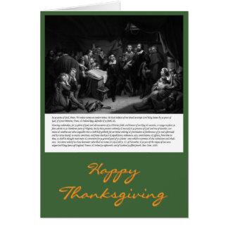 Mayflower - assinatura do cartão compacto da acção