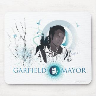 Mayor Viagem Rato Esteira Azul de Garfield Mousepads