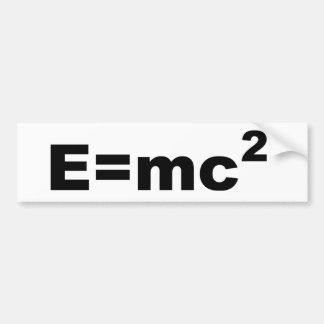 =MC 2 de E Adesivo Para Carro