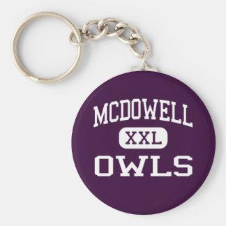 McDowell - corujas - escola secundária - Hondo Tex Chaveiros