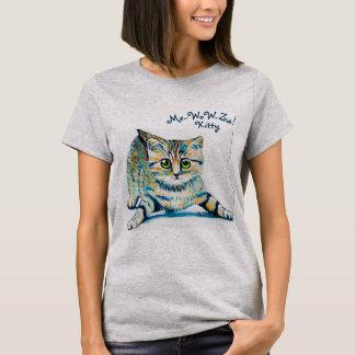 Me-Wow-Za! A camisa das mulheres do gatinho