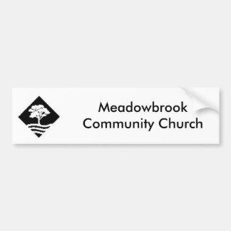 Meadowbrook Bumpersticker Adesivo Para Carro
