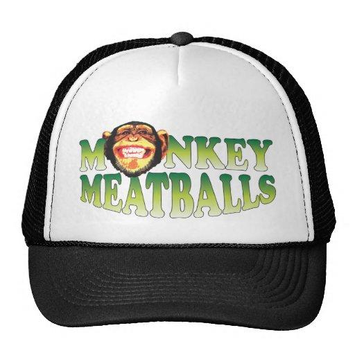 Meatballs do macaco boné