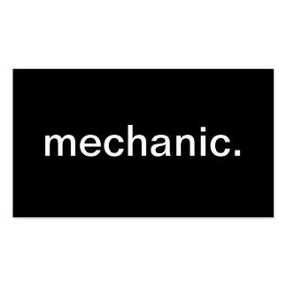 Mecânico Cartões De Visitas
