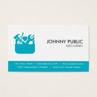 Mecânico - cartões profissionais - alguma cor