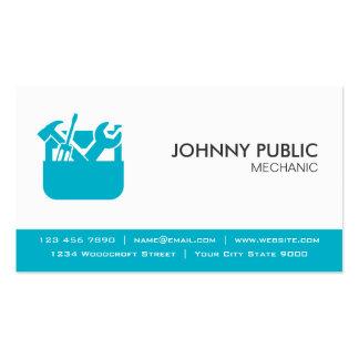 Mecânico - cartões profissionais - alguma cor cartão de visita