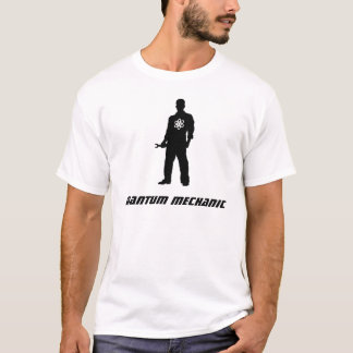 Mecânico de quantum camiseta