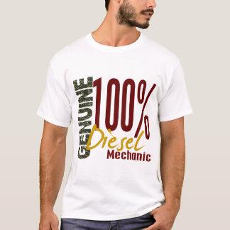 Mecânico diesel genuíno camiseta
