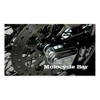 Mecânico do cartão de visita da motocicleta