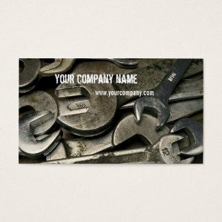 mecânico/trabalhador manual cartão de visitas