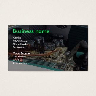 Mecânicos Cartão De Visitas