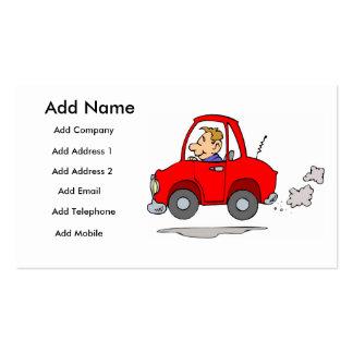 Mecânicos ou negócio de Salesmans do carro/cartão Cartão De Visita