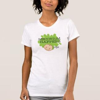Camiseta Meconium acontece camisa