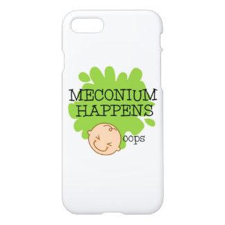 Meconium acontece capa de telefone engraçada