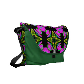 MED. A bolsa mensageiro do rickshaw no design do