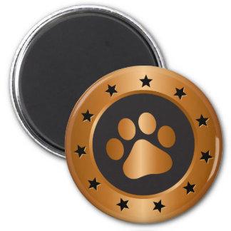 Medalha de bronze do vencedor da exposição de cães imã