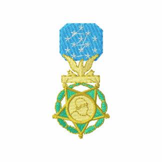 Medalha do exército de honra do congresso agasalho jogger de lã bordado