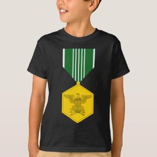 Medalha do louvor do exército camiseta
