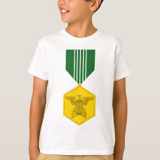 Medalha do louvor do exército tshirts