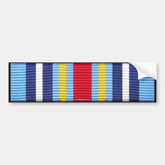 Medalha expedicionária da guerra ao terrorismo adesivo para carro
