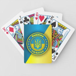 Medalhão de Ucrânia Jogo De Baralho