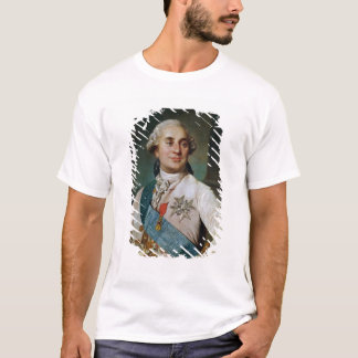 Medalhão do retrato de Louis XVI 1775 Camiseta