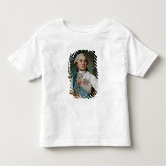 Medalhão do retrato de Louis XVI 1775 T-shirt