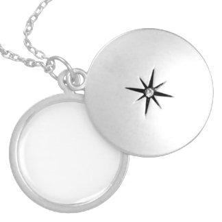 Medalhão Personalizado Chapeado a Prata
