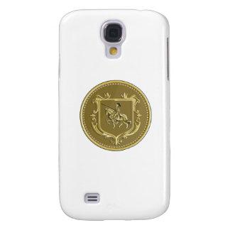 Medalhão R da brasão da lança do Steed da Galaxy S4 Covers