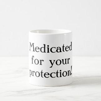 Medicado para sua caneca da proteção