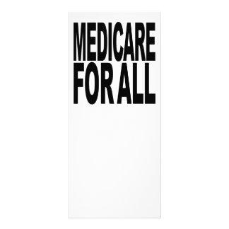 Medicare para tudo 10.16 x 22.86cm panfleto