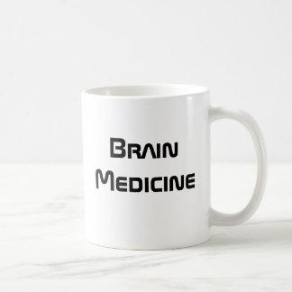 Medicina do cérebro - caneca de café engraçada