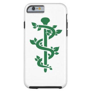Médico alternativo capa tough para iPhone 6