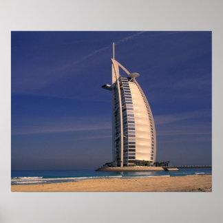 Médio Oriente, United Arab Emirates, Dubai, Burj Posteres