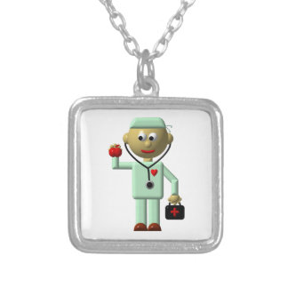 Medique w Apple estetoscópio colar médica do sac