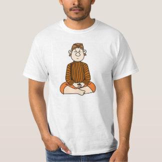 meditação do homem de java camiseta