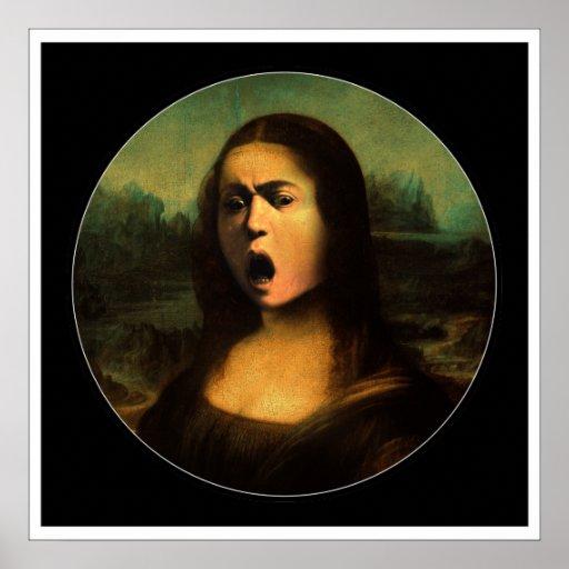 Medusa da Mona de Caravaggio Posteres