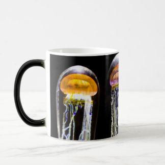 Medusa de incandescência caneca mágica