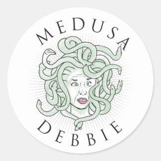 Medusa Debbie -- Etiqueta 1