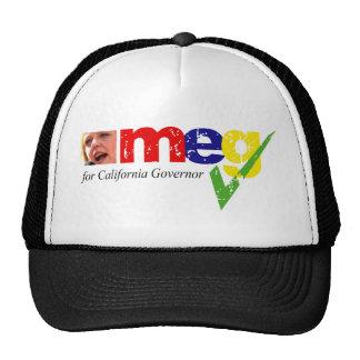 Meg Whitman para o governador de Califórnia Bonés