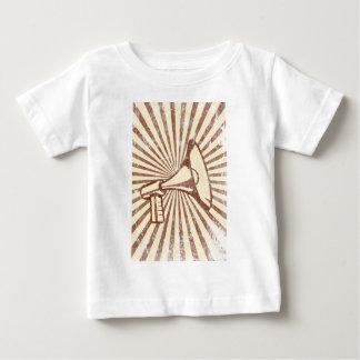 Megafone Camiseta Para Bebê