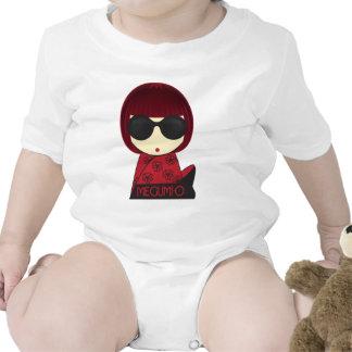 MEGUMI•Creeper da criança de O Macacãozinhos Para Bebê