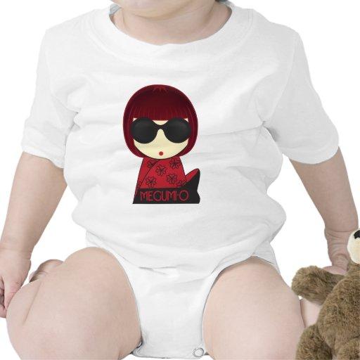 MEGUMI•Creeper da criança de O T-shirt