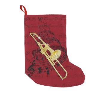 Meia da música do Trombone (válvula) Meia De Natal Pequena