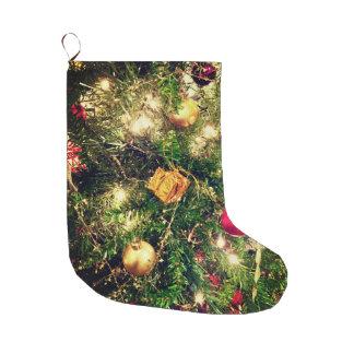 Meia De Natal Grande Árvore de Natal que armazena 2