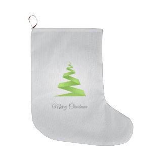 Meia De Natal Grande Árvore de Natal simples da fita do Natal