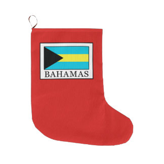 Meia De Natal Grande Bahamas