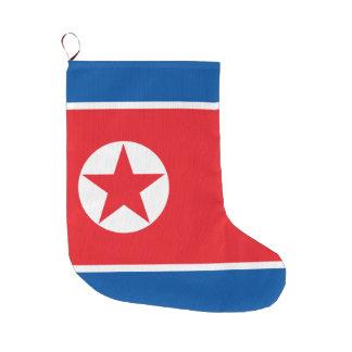 Meia De Natal Grande Bandeira da Coreia do Norte
