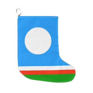 Meia De Natal Grande Bandeira da república de Sakha