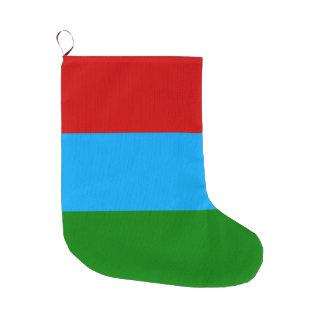 Meia De Natal Grande Bandeira de Carélia